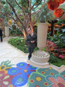 Goofing around at the Wynn